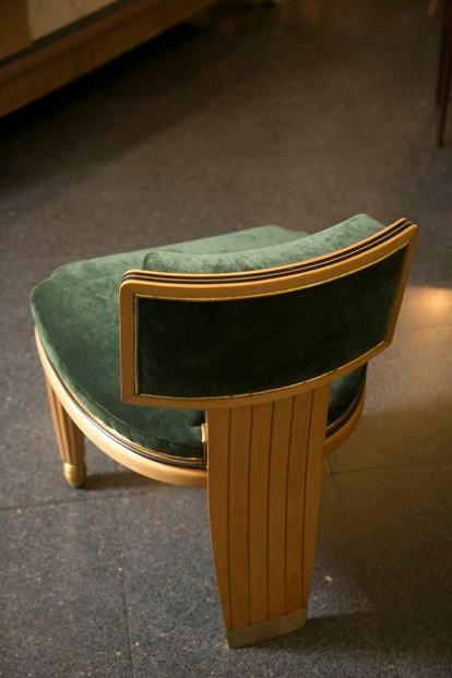 Silla del diseñador francés 'art decó' Paul Follot.