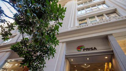 Sede del grupo PRISA en Gran Vía, Madrid.