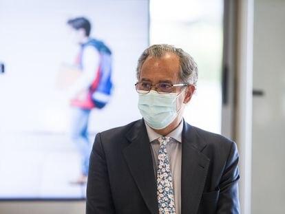 El consejero de Educación de la Comunidad de Madrid, Enrique Ossorio, el pasado septiembre.