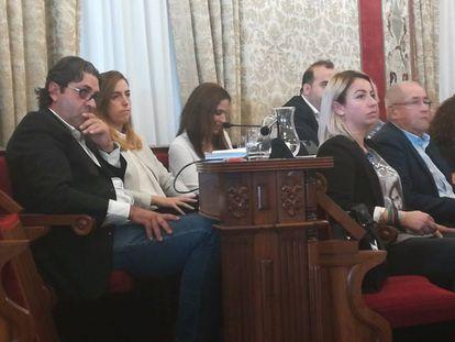 La sesión extraordinaria del pleno del Ayuntamiento de Alicante.