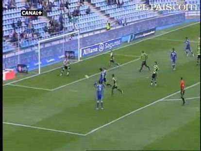 """El centrocampista del Getafe, Parejo, dirige la goleada local. <strong><a href=""""http://www.elpais.com/buscar/liga-bbva/videos"""">Vídeos de la Liga BBVA</a></strong>"""