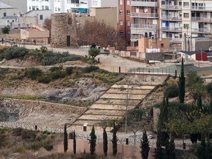 Parque Arqueológico del Molinete en Cartagena, el pasado diciembre.