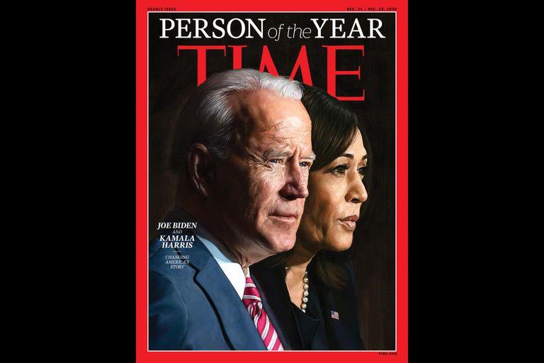 Joe Biden y Kamala Harris, los personajes del año de la revista 'Time' |  Elecciones USA | EL PAÍS