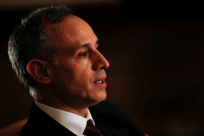 Hugo López-Gatell durante una entrevista, en mayo del 2020.