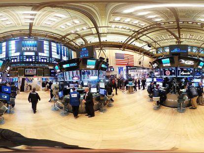 Panorámica de la Bolsa de Nueva York el pasado 21 de marzo.