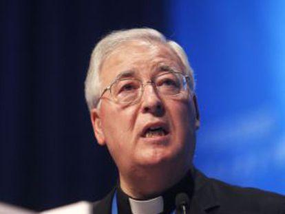 El obispo de Alcalá en una imagen de mayo pasado.