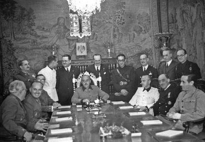 Consejo de Ministros, de 12 de agosto de 1939, presidido por Francisco Franco.