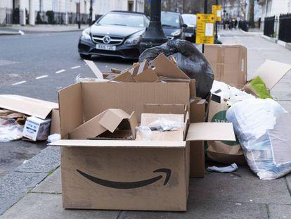 Restos de Amazon en Londres