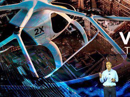 Brian Krzanich, director ejecutivo de Intel, durante la conferencia de Intel Keynote en el CES de Las Vegas, el 8 de enero de 2018.