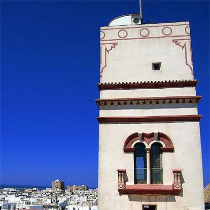 La ciudad de Cádiz con la Torre Tavira en primer plano.