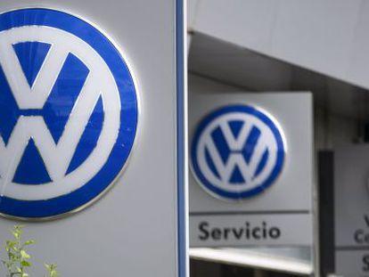 Un concesionario de Volkswagen