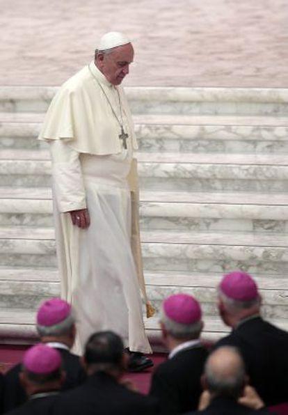 El papa Francisco el pasado 27 de septiembre.