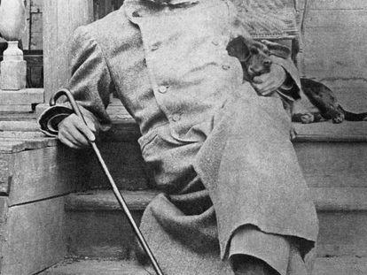 El escritor ruso Antón Chéjov.