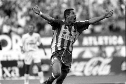 Simeone, que ganó la última Liga como técnico del Atlético, fue también protagonista del histórico doblete de 1996 al marcar el gol ante el Albacete en la última jornada.