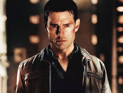 Tom Cruise como Jack Reacher en una de las adaptaciones para el cine.
