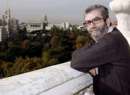 El escritor, Antonio Muñoz Molina, ha presentado su último libro, 'La noche de los tiempos'