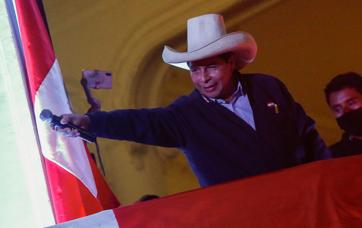 Pedro Castillo gana en Perú, pero un recurso de Fujimori demora la proclamación