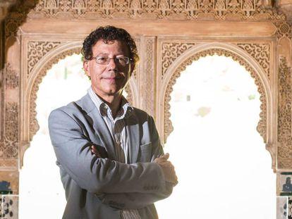 El director de la Alhambra y el Generalife, Reynaldo Fernández