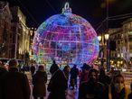 DVD 1030 (02-12-20) Luces de Navidad, en el centro de Madrid. Foto Samuel Sanchez