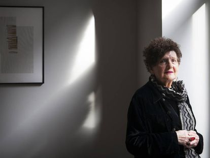 La escritora mexicana Margo Glantz, en 2019, en Madrid.