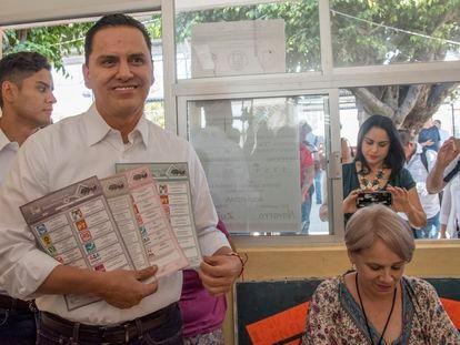 El exgobernador de Nayarit en búsqueda y captura, Roberto Sandoval, en una foto de 2017.