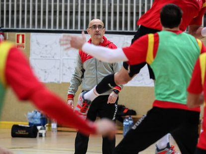 Jordi Rivera, entrenador de la selección nacional de balonmano.
