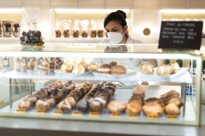 Pastelería L'Atelier en Barcelona.