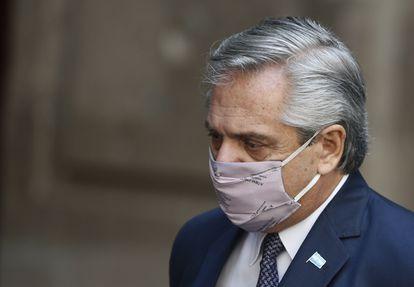 Alberto Fernández, presidente de Argentina, en una imagen del pasado 23 de febrero.