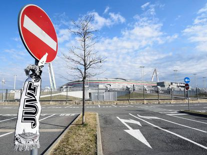 El Allianz Stadium, de la Juventus, este sábado.