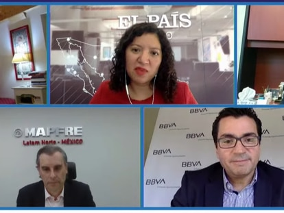 Captura de pantalla del foro organizado por EL PAÍS este martes
