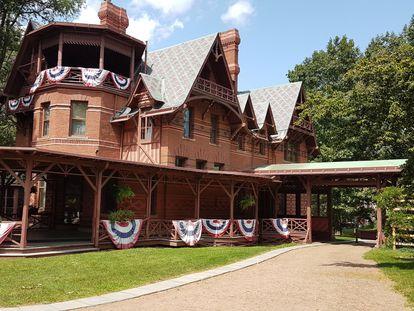 Casa de Mark Twain en Hartford, Connecticut.