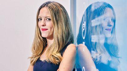 La responsable de HMY Retail Tech, Lorena Gómez (Zaragoza, 1985).