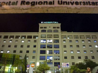 Imagen del Hospital Regional de Málaga.