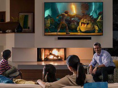 Imagen promocional de los televisores inteligentes Vizio