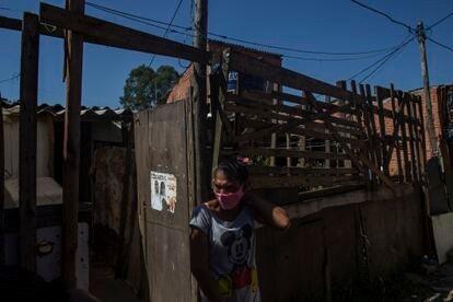 Andreia Venâncio en Ocupação Esperança.