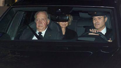 El rey Juan Carlos el pasado 8 de enero.