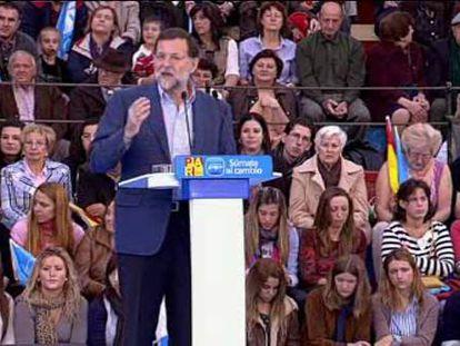 Rajoy cambiará la Constitución para evitar la anexión de Navarra a Euskadi