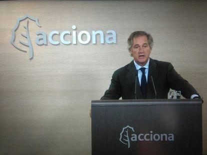 El presidente de Acciona, José Manuel Entrecanales.