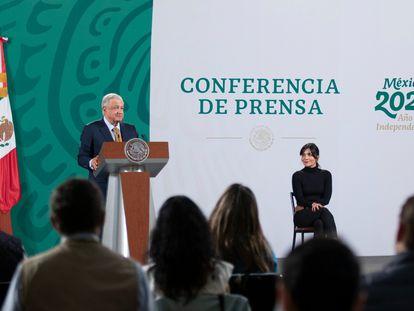 Conferencia de prensa del presidente Andrés Manuel López Obrador del 7 de julio de 2021.