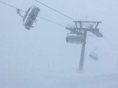 El incidente, ocurrido en estación de esquí Silvretta Montafon de Austria, no ha provocado heridos.