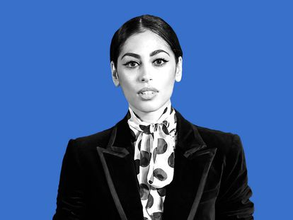 Mina El Hammani interpreta a Nadia en 'Elite'.