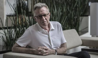 Martin Ravallion, fotografiado en un hotel de Ciudad de México.