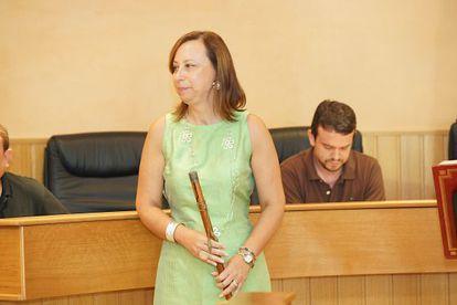 La nueva alcaldesa de Paterna, Elena Martínez.