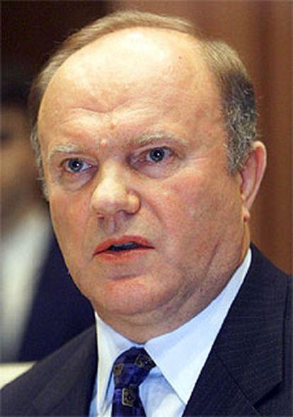 Guennadi Ziugánov.