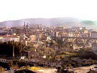 Vista general de Alcoy.