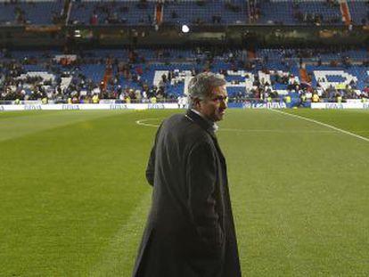 Mourinho, en su reto con el Bernabéu