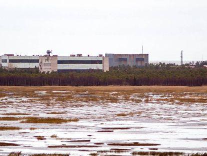 Base militar en la ciudad de Nionoska, en la región rusa de Arjangelsk, en una imagen de 2011.