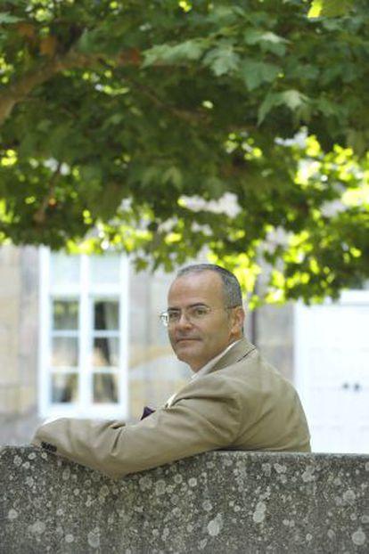 El conselleiro de Educación, Jesús Vázquez, el pasado sábado en Baños de Molgas (Ourense).