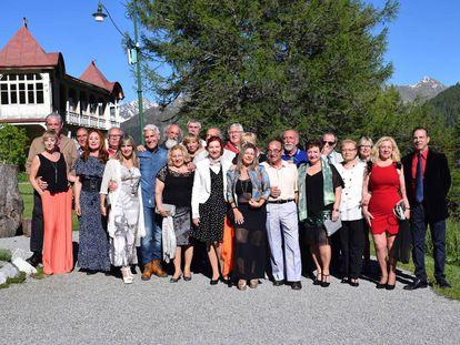 Los participantes de 'Hotel Romántico'.