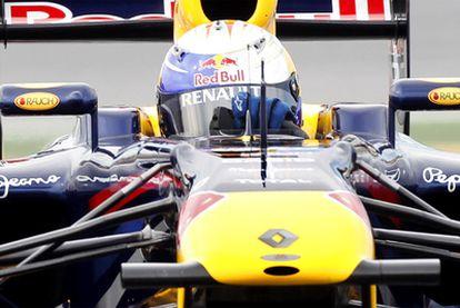 Vettel, en Montmeló